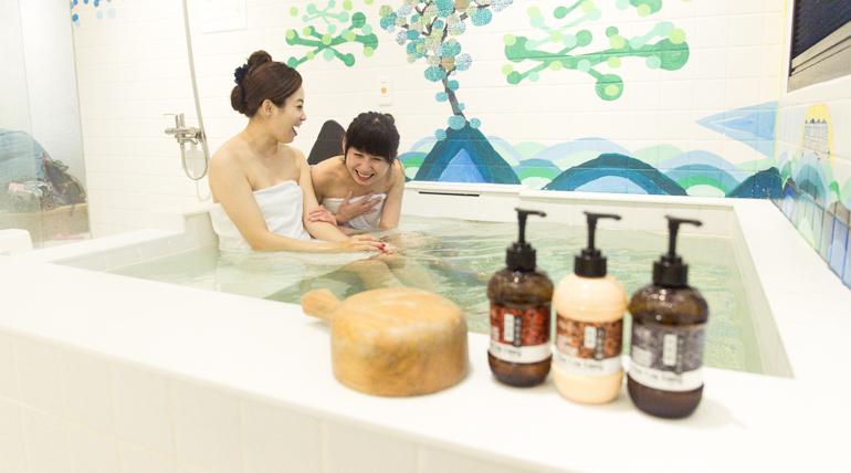 冬日泡暖泉,礁溪藝術小澡堂
