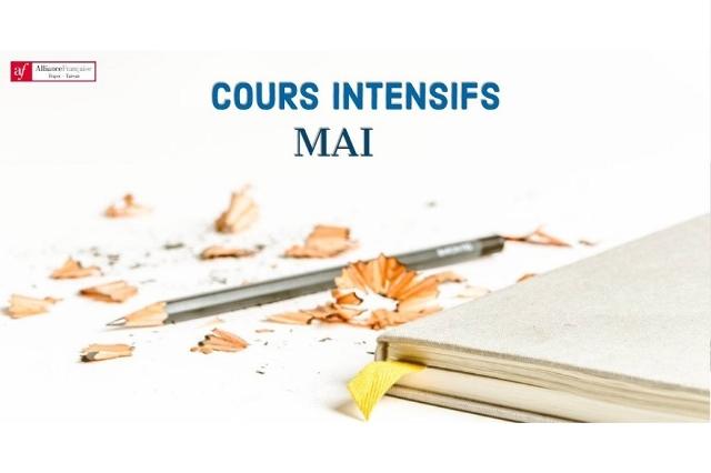 台北中心5月份法語密集班熱烈報名中!  Sign up now for your French intensive class