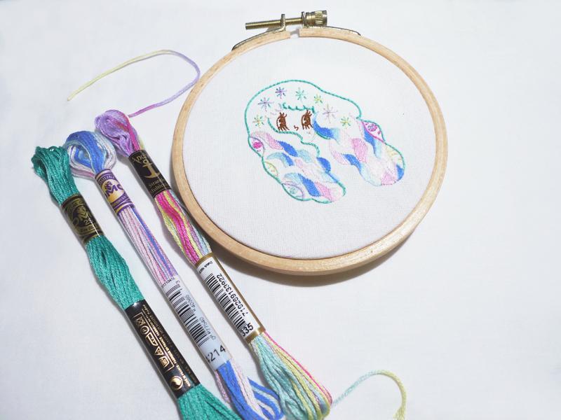 基礎刺繡課┋自由的明女孩9/22 - 精緻小班教學、個別指導