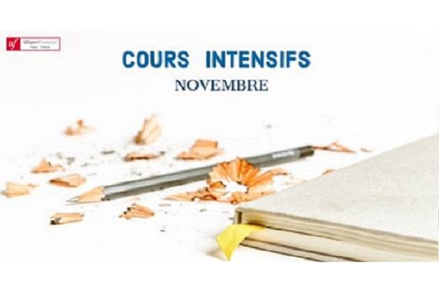 《af台灣法國文化協會》11月份法語密集班熱烈報名中!