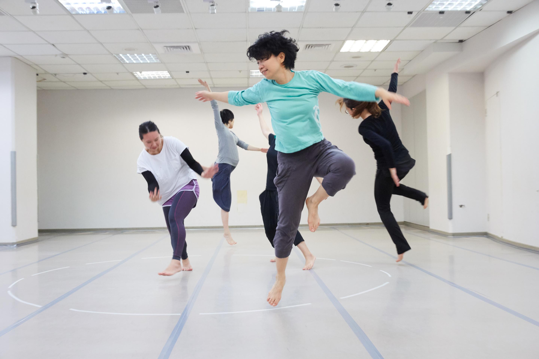 50+學院×雲門舞集舞蹈教室 身體工作坊